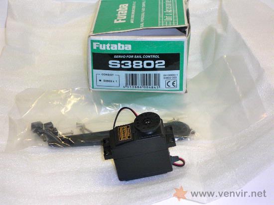 FUTABA S3802. SERVO (Juguetes - Modelismo y Radiocontrol - Motores)