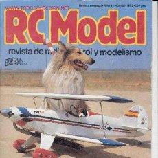 Hobbys: RC MODEL Nº 20 - 1982. REVISTA DE RADIO CONTROL Y MODELISMO. (OFERTA 3X2).. Lote 6124647