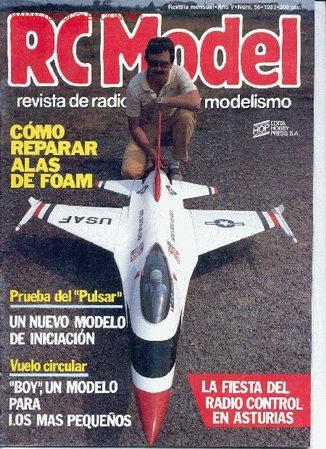 RC MODEL Nº 56 - 1985. REVISTA DE RADIO CONTROL Y MODELISMO. (OFERTA 3X2). (Juguetes - Modelismo y Radiocontrol - Revistas)