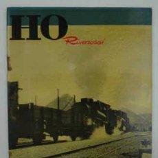 Hobbys: H0 RIVAROSSI. REVISTA DI MODELISMO FERROVIARIO. Nº 31. 1959. 33 PÁG.. Lote 16313100