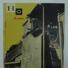 Hobbys: H0 RIVAROSSI. REVISTA DI MODELISMO FERROVIARIO. Nº 21. 1957. 33 PÁG.. Lote 16313092