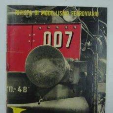 Hobbys: H0 RIVAROSSI. REVISTA DI MODELISMO FERROVIARIO. Nº 17. 1956. 33 PÁG.. Lote 16313085