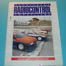 Hobbys: TECNICAS DE RADIOCONTROL Y MODELISMO. APARATOS EN MOVIMIENTO CONTROLADO. 20 PÁG.. Lote 16171262