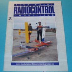 Hobbys: TECNICAS DE RADIOCONTROL Y MODELISMO. AEROMODELISMO: CONOCIMIENTOS BÁSICOS. 20 PÁG.. Lote 16171268