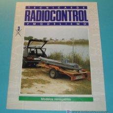 Hobbys: TECNICAS DE RADIOCONTROL Y MODELISMO. MODELOS NAVEGABLES. 20 PÁG.. Lote 16171270