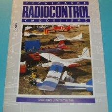 Hobbys: TECNICAS DE RADIOCONTROL Y MODELISMO. MATERIALES Y HERRAMIENTAS. 20 PÁG.. Lote 16171282
