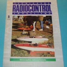 Hobbys: TECNICAS DE RADIOCONTROL Y MODELISMO. MOTONÁUTICA RADIOCONTROLADA. 20 PÁG.. Lote 16171290