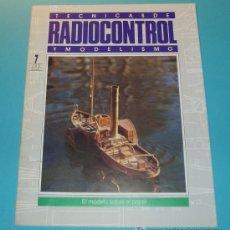 Hobbys: TECNICAS DE RADIOCONTROL Y MODELISMO. EL MODELO SOBRE EL PAPEL. 20 PÁG.. Lote 17246646