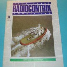 Hobbys: TECNICAS DE RADIOCONTROL Y MODELISMO Nº10. MATERIALES Y HERRAMIENTAS. PÁG. 20. Lote 16175592