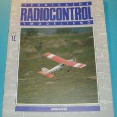Hobbys: TECNICAS DE RADIOCONTROL Y MODELISMO Nº13. ADHESIVOS. PÁG. 20. Lote 16175607