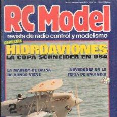 Hobbys: RC MODEL Nº 147 , REVISTA DE MODELISMO - EDITADA - 1993. Lote 22760622