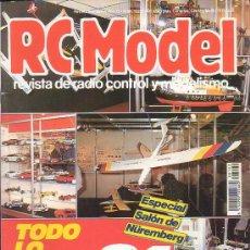 Hobbys: RC MODEL Nº 122 , REVISTA DE MODELISMO - EDITADA - 1991. Lote 22760653