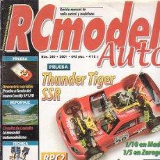 Hobbys: RC MODEL AUTO Nº 250 , REVISTA DE MODELISMO - EDITADA - 2001. Lote 22761279