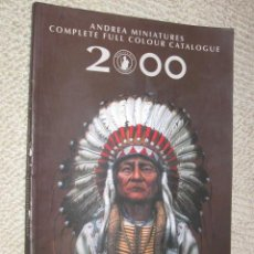 Hobbys: CATÁLOGO ANDREA MINIATURES 2000. 160 PÁGINAS. MINIATURAS, MODELISMO. Lote 24999239