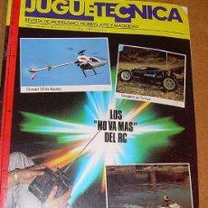 Hobbys: JUGUETECNICA - Nº 8 - 1989. Lote 25082344
