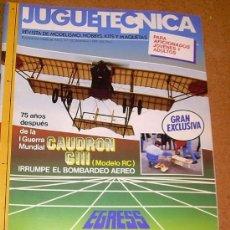Hobbys: JUGUETECNICA - Nº 10 - 1989. Lote 25082389
