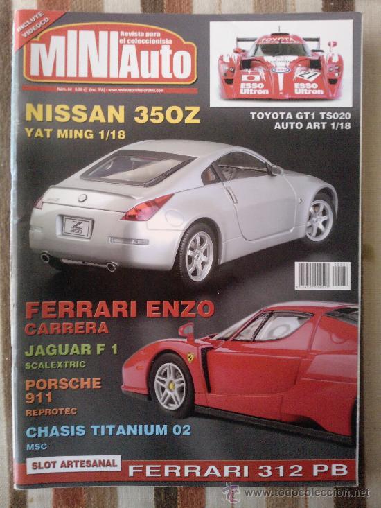 MINI AUTO N84 (Juguetes - Modelismo y Radiocontrol - Revistas)