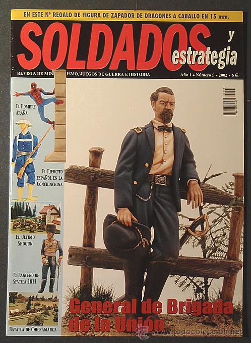 REVISTA SOLDADOS Y ESTRATEGIA Nº 5 + SOLDADO EJÉRCITO NAPOLEÓNICO (15 MM.) (Juguetes - Modelismo y Radiocontrol - Revistas)