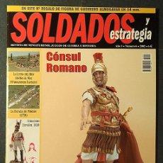 Hobbys: REVISTA SOLDADOS Y ESTRATEGIA Nº 6 + GUERRERO ALMOGÁVAR (54 MM.). Lote 27788409