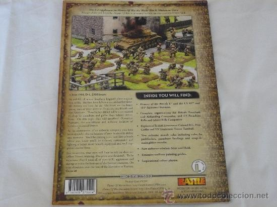 Hobbys: MINUS ALLIED AIRBONE FORCES IN NORMANDY DE FLAMES OF WAR 15MM EN INGLES - Foto 2 - 28503994