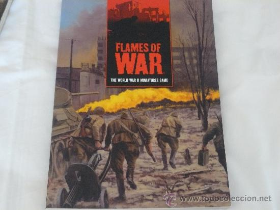 Hobbys: REGLAMENTO DE FLAMES OF WAR 15MM EN INGLES DE LA MARCA BATTLEFRONT MINIATURES - Foto 1 - 28504427