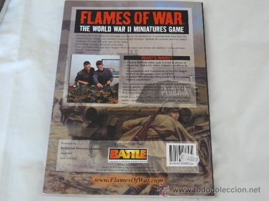 Hobbys: REGLAMENTO DE FLAMES OF WAR 15MM EN INGLES DE LA MARCA BATTLEFRONT MINIATURES - Foto 2 - 28504427