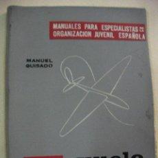 Hobbys: VUELO SIN MOTOR - MANUALES PARA ESPECIALISTAS ORGANIZACION JUVENIL ESPAÑOLA DE MANUEL GUISADO. Lote 28522628