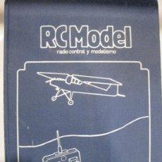 Hobbys: RC MODEL RADIO CONTROL Y MODELISMO. AÑO 1981. DE MARZO A DICIEMBRE.ENCUADERNADO. TAPA DURA. RCMODEL. Lote 28825863