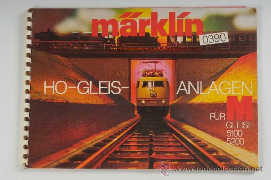 CATÁLOGO MARKLIN, 0390 HO-GLEIS-ANLAGEN (Juguetes - Modelismo y Radiocontrol - Revistas)