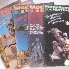 Hobbys: LOTE DE 5 REVISTAS DE MODELISMO & HISTORIA .. Lote 222270402
