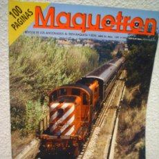 Hobbys: .MAQUETREN.REVISTA Nº 109. Lote 30676647