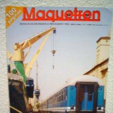 Hobbys: .MAQUETREN.REVISTA Nº 111.6/2002. Lote 30676654
