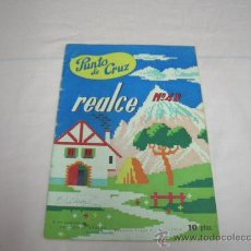 Hobbys: LIBRITO PUNTO DE CRUZ AÑO 1958. Lote 31190214