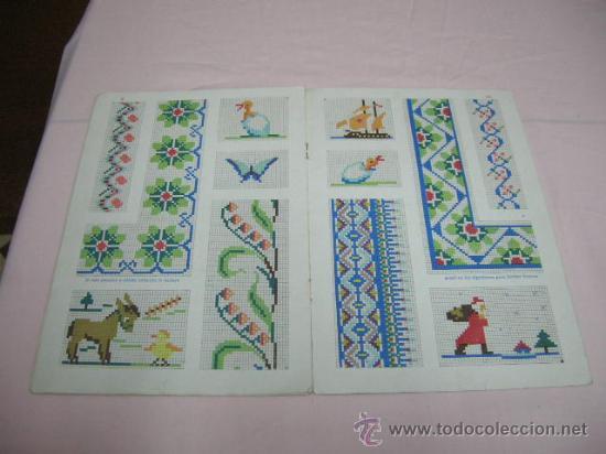 Hobbys: Librito Punto de cruz año 1958 - Foto 2 - 31190214