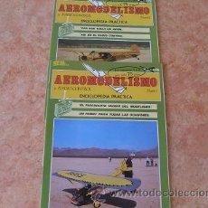 Hobbys: AEROMODELISMO Y RADIO CONTROL ENCICLOPEDIA PRACTICA,FASCICULOS 1 Y 2,ED. HOBBY PRESS,AÑO 1985. Lote 54311451