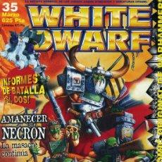 Hobbys: WHITE DWARF Nº35 (REVISTA DE WARHAMMER). Lote 32045095