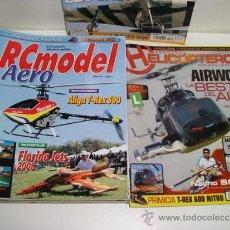 Hobbys: LOTE DE 12 REVISTAS HELICOPTEROS MODELISMO RC Y RCMODEL AEREO . Lote 32111867