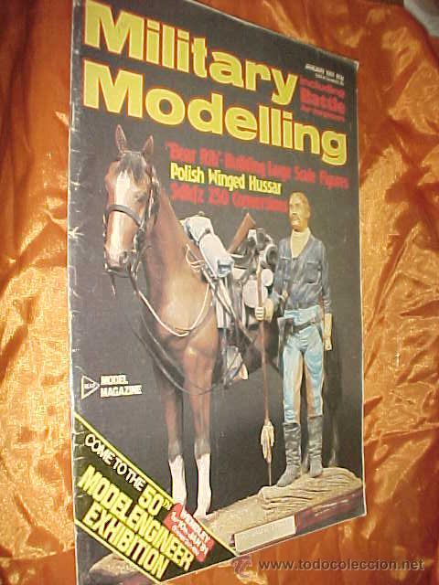 MILITARY MODELLING. VOL. 11. Nº 1. JANUARY 1981. MODEL DIVISION MAGAZINE. REVISTA EN INGLES * (Juguetes - Modelismo y Radiocontrol - Revistas)
