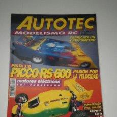 Hobbys: AUTOTEC MODELISMO RC Nº 14 - AUTO RADIO CONTROL RC COMPETICION. Lote 32464498