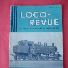 Hobbys: LOCO REVUE, REVISTA DE TRENES, Nº 78 DE 1950. Lote 32737328