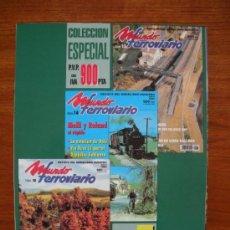 Hobbys: REVISTA MUNDO FERROVIARIO. Lote 33235688