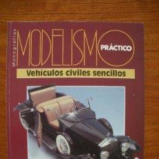 Hobbys: MODELISMO PRACTICO LOTE DE 3 MONOGRAFIAS. Lote 33235698