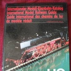 Hobbys: INTENATIONAL MODEL RAILWAYS GUIDE, GUIA INTERNACIONAL DE TRENES EN MINIATURA, 1978/79, LIBRO TRENES. Lote 33248837