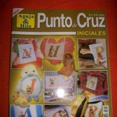 Hobbys: REVISTA PUNTO DE CRUZ - AGUJA & HILO - INICIALES - NUEVA. Lote 34388644