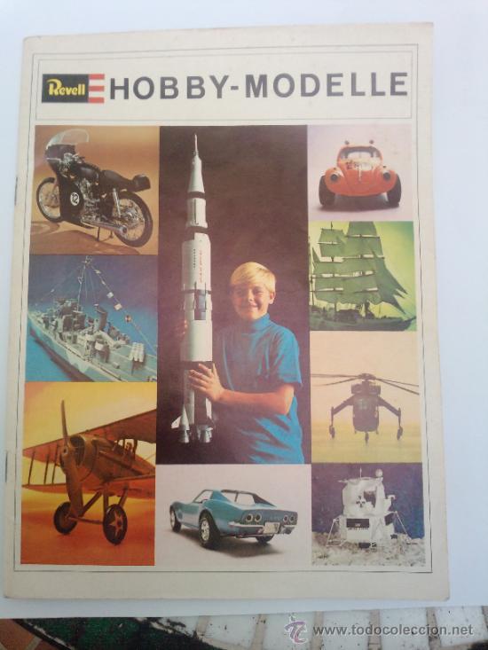 -CATALOGO REVELL 1969 ALEMAN 46 PAG (Juguetes - Modelismo y Radiocontrol - Revistas)