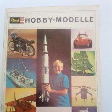 Hobbys: -CATALOGO REVELL 1969 ALEMAN 46 PAG. Lote 34629128