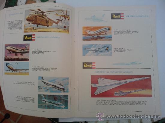 Hobbys: -CATALOGO REVELL 1969 ALEMAN 46 PAG - Foto 3 - 34629128