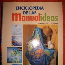 Hobbys: ENCICLOPEDIA DE LAS MANUALIDADES - VOLUMEN 5 - MARQUETERIA, LATON , ESCAYOLA,…CON ESQUEMAS - 177 PAG. Lote 34632316