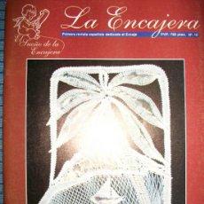 Hobbys: REVISTA LA ENCAJERA - Nº 10 - BOLILLOS - 19 PATRONES - MONTAÑA, PLAYA, TOALLA,CUELLO ENCAJE RUSO... . Lote 34699159