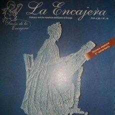 Hobbys: REVISTA LA ENCAJERA - Nº 10 - BOLILLOS - 19 PATRONES - MONTAÑA, PLAYA, TOALLA,CUELLO ENCAJE RUSO... . Lote 34699166